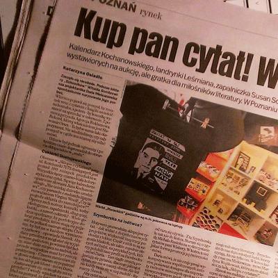 Gazeta Wyborcza - Kup pan! Cytat w sklepie
