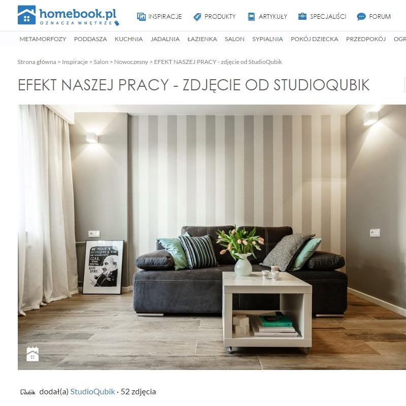 Ciekawa modernizacja wnętrza projektu StudioQubik