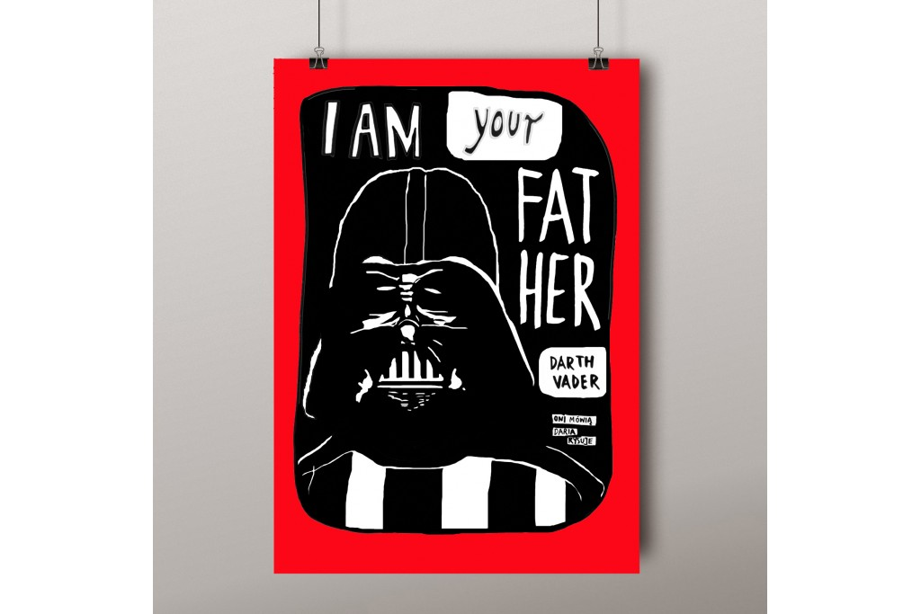Plakat A3: Lord Vader