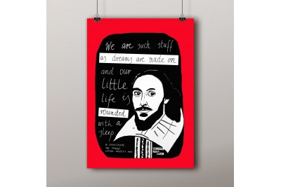 Plakat A3: Shakespeare